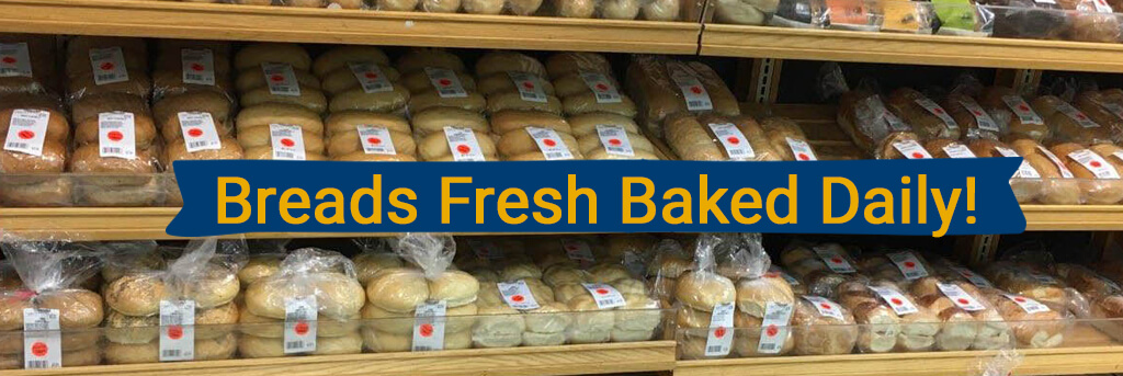 Breads Fresh Baked Daily